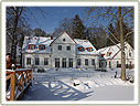 Café Wildau im Winter